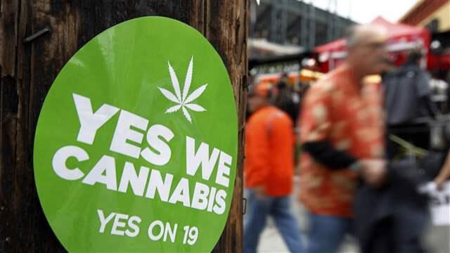 yes we cannabis sticker
