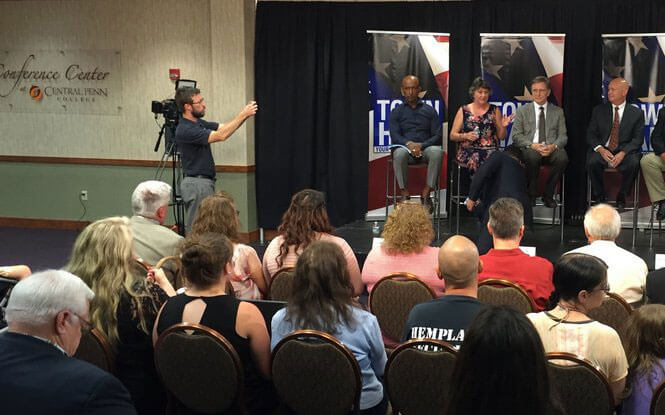 Town hall meeting with Montel Williams