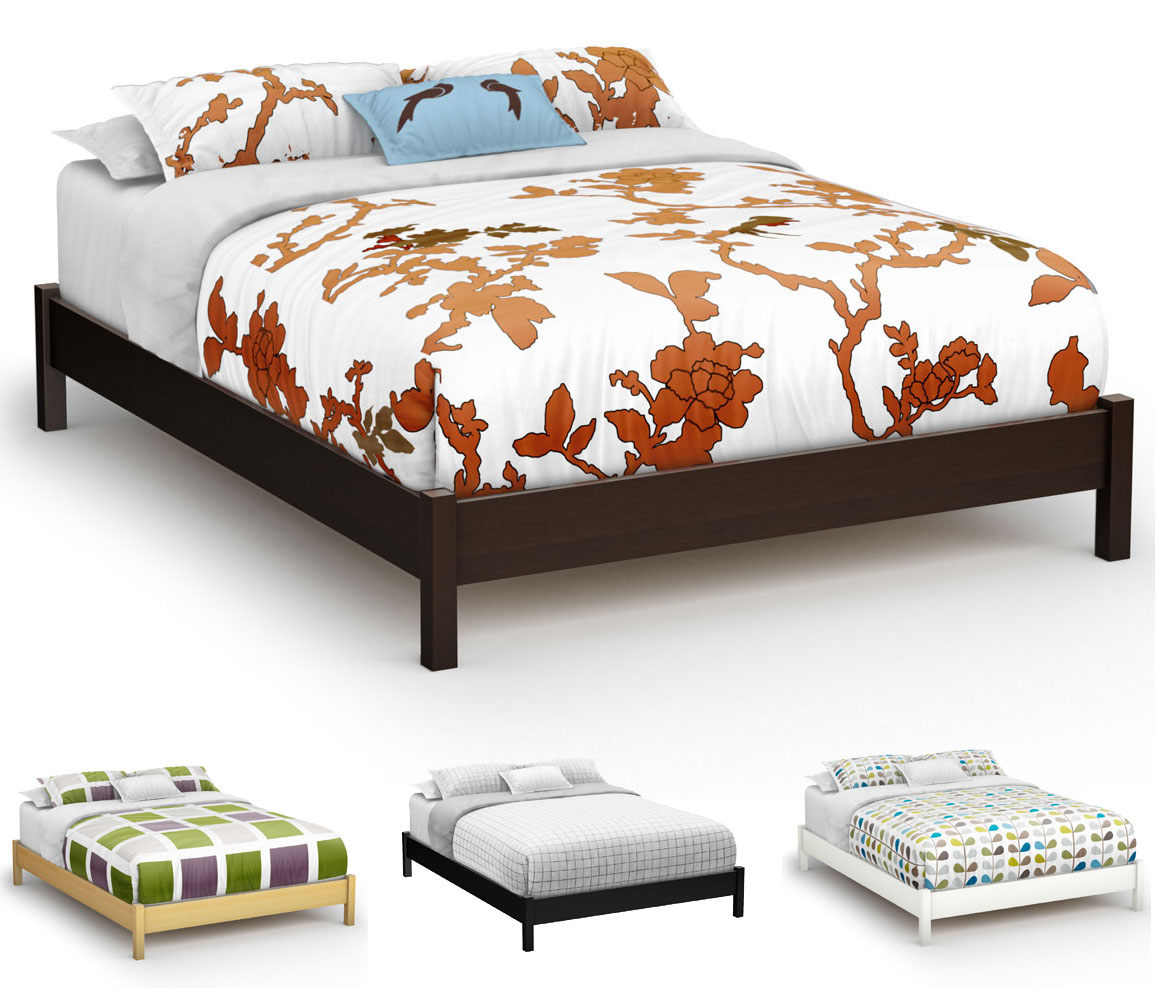 Platform Bed Chocolate Main Jpg