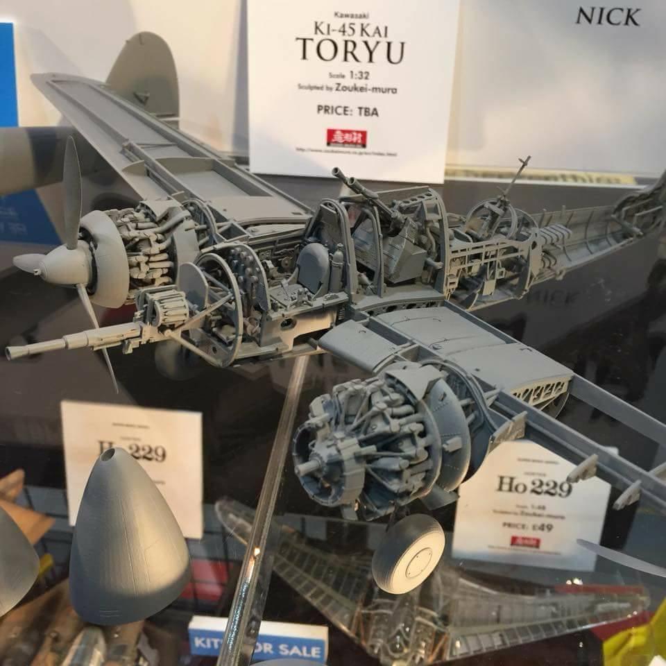 "Zoukei Mura Ki-45 Toryu ""Nick"" 1/32"