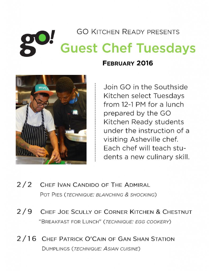 Green Opportunities | Southside Kitchen Menu, Week of February 1st ...