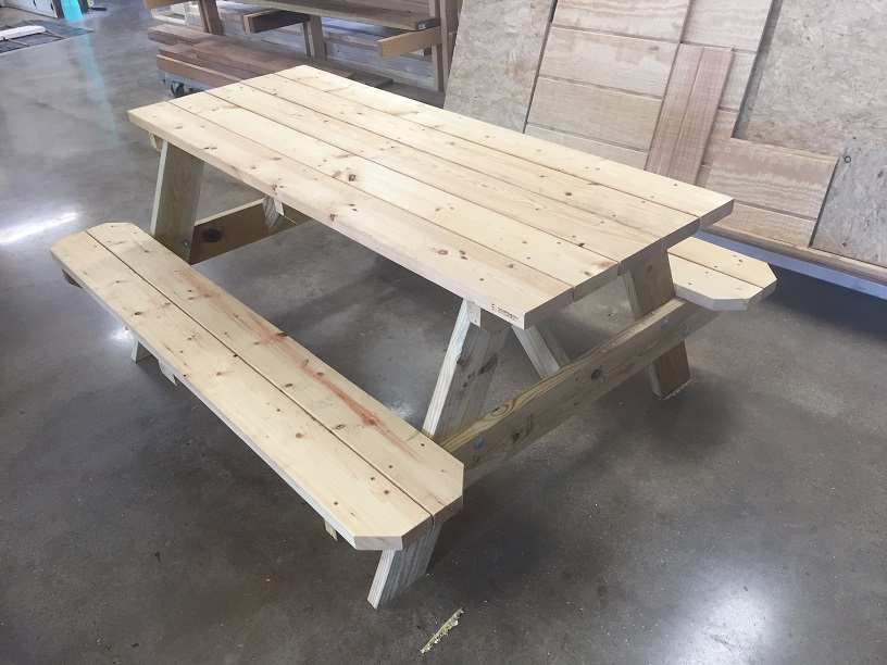 Southside Woodworks Picnic Table Web