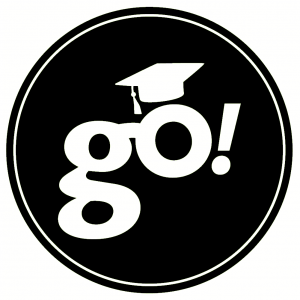 go-graduation-cap-with-white-circle-vector-bw