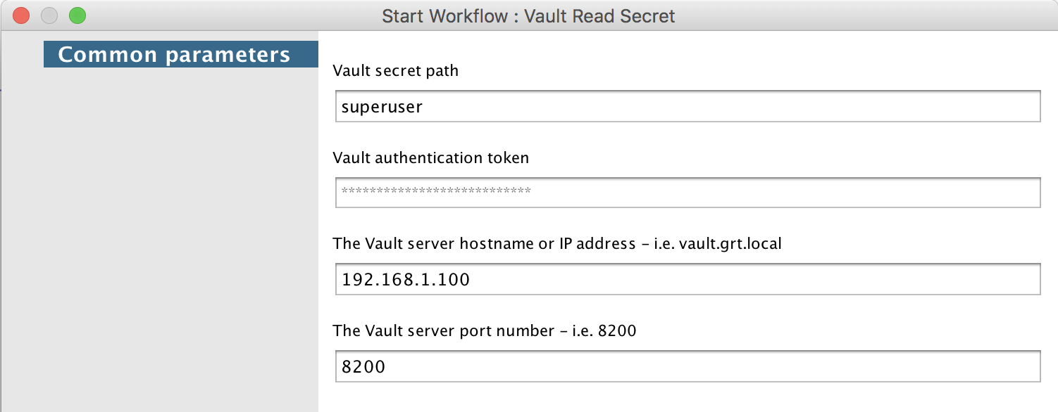 VMware vRealize Orchestrator (vRO) Vault Integration