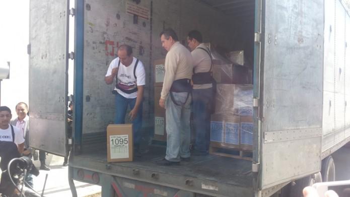 noticias monterrey llegan boletas de elección a gobernador a CEE