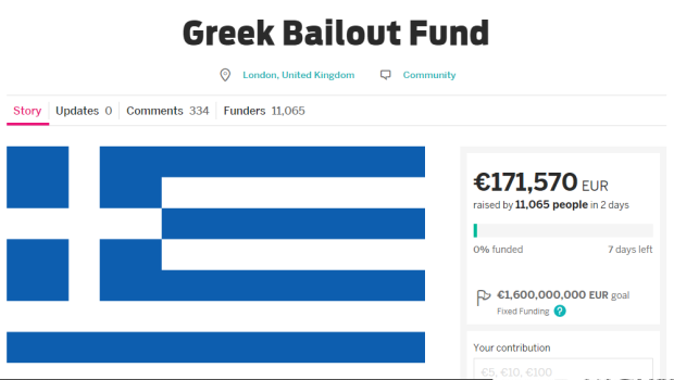 noticias internacional lanzan campaña para salvar a grecia
