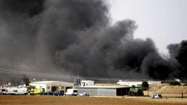 noticias internacionales explota fábrica de pirotecnia en españa