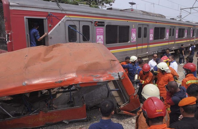 Indonesia Deadly Collision