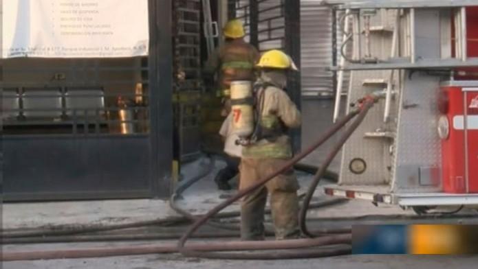 Día de incendios en la zona metropolitana de Monterrey / Foto: Televisa