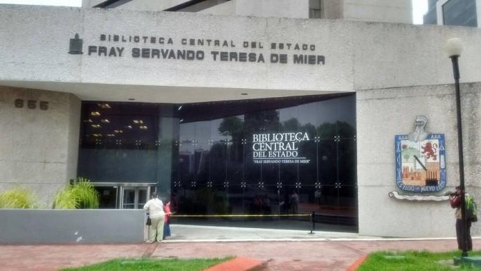 Biblioteca Central- Gregorio Martínez.