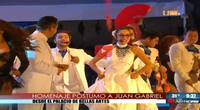 Concluye homenaje a #JuanGabriel en Bellas Artes.