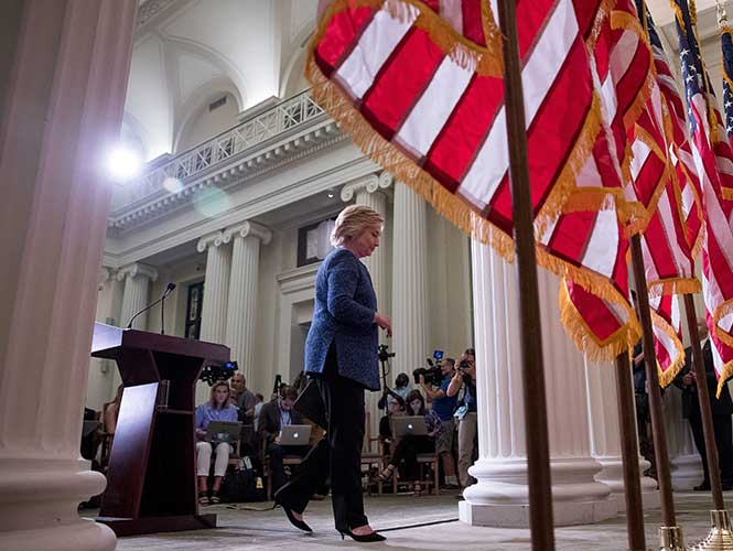 Hillary Clinton- Gregorio Martínez.