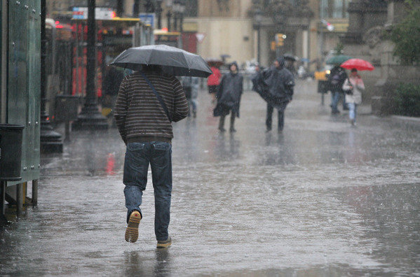El Servicio Meteorológico Nacional (SMN) informó que para este lunes se pronostican tormentas muy fuerte. Foto: Cortesía