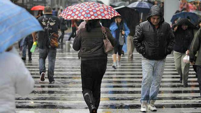 Probabilidad de lluvias con intervalos de chubascos en Chihuahua, Coahuila, Nuevo León, San Luis Potosí, Zacatecas, y Durango. Foto: Cortesía