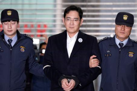 Heredero de Samsung es acusado de soborno y malversación