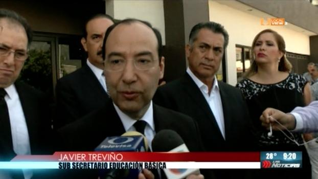 La SEP elabora protocolo de seguridad para escuelas, explica el subsecretario Javier Treviño