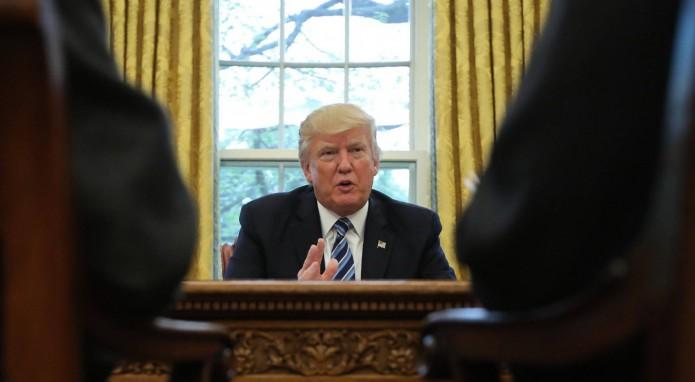 Trump alerta de la posibilidad de un gran conflicto con Corea del Norte