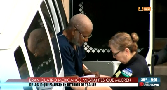 Confirman que cuatro de los diez fallecidos en San Antonio eran mexicanos