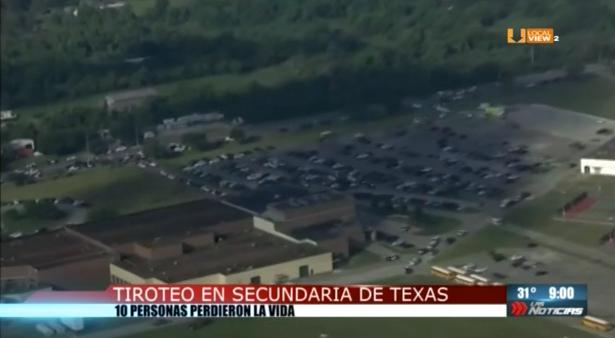 Otro tiroteo en una escuela de Estados Unidos. Ahora fue en Texas. Hubo 10 muertos