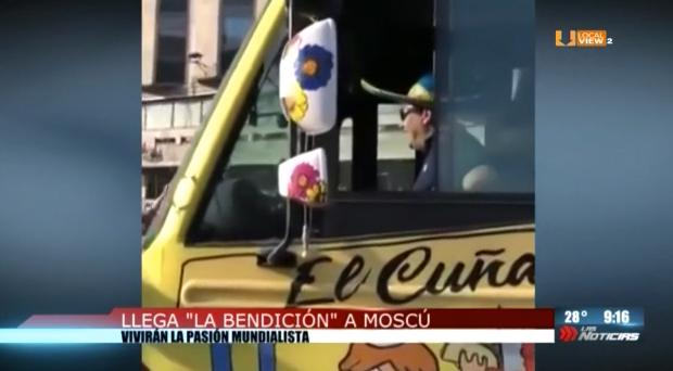 """Un grupo de mexicanos lleva su """"bendición"""" al mundial de Rusia"""