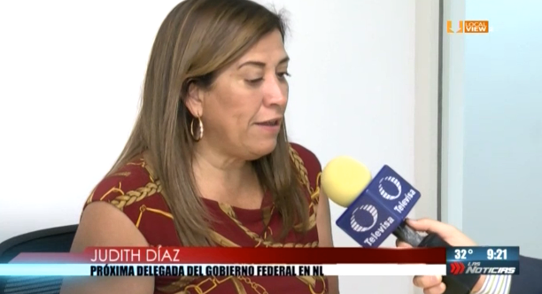 #Entrevista a Judith Díaz, próxima Delegada del Gobierno Federal en NL