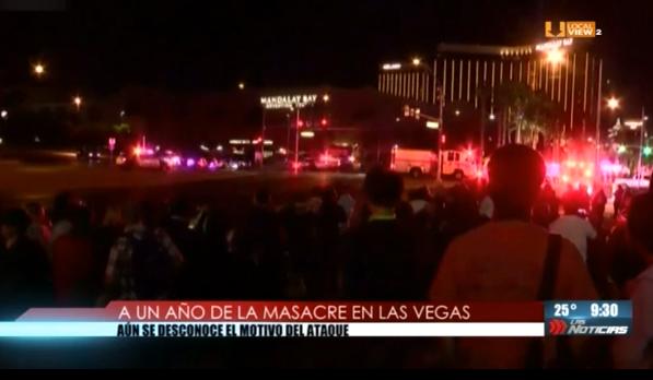 Se cumplió un año de la masacre en Las Vegas