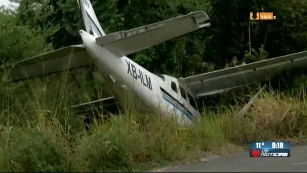 Cae avioneta en Altamira. Mueren dos personas