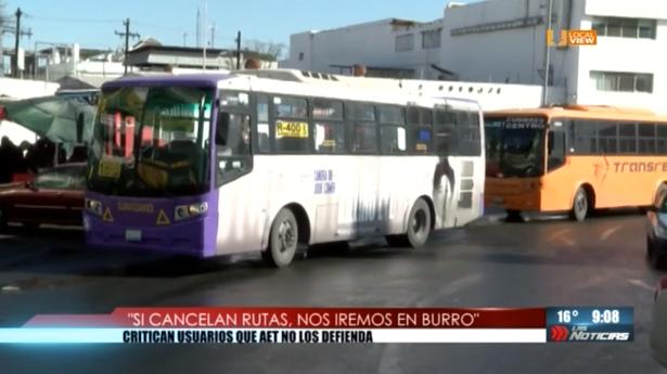 #NoAlTarifazo. Advierten transportistas que 13 rutas dejarían de circular el 1 de marzo