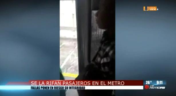 Robos, acoso y fallas en el metro de la ciudad de Monterrey
