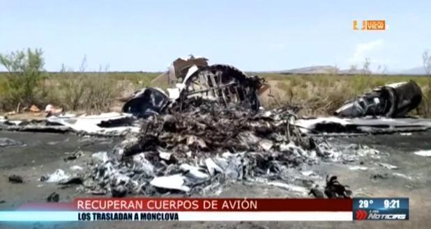 Rescatan cuerpos de los 13 fallecidos y recuperan cajas de avión siniestrado