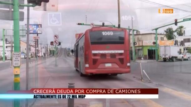 Inviable que Nuevo León adquiera más deuda para comprar camiones
