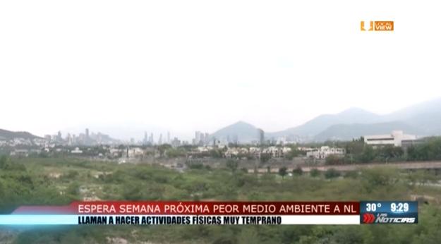 Continuará la mala calidad del aire en la zona metropolitana de Monterrey