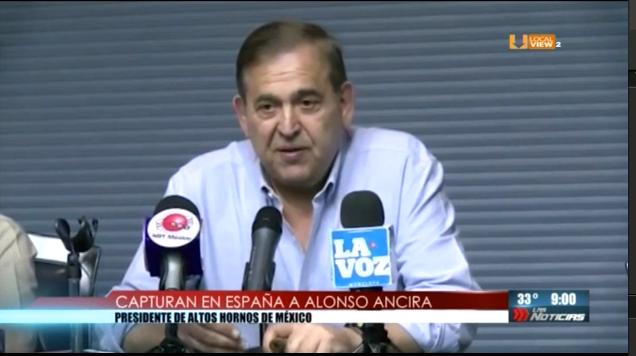 Alonso Ancira y Emilio Lozoya... al banquillo de los acusados