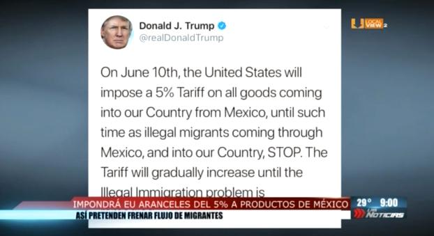 Trump amenaza a México y el peso se deprecia