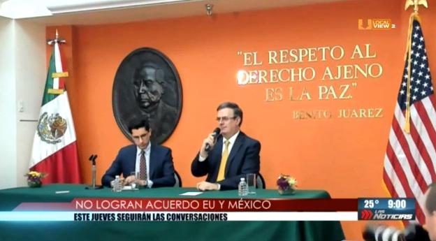Este jueves continúan las negociaciones entre México y Estados Unidos