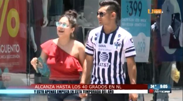 Ola de calor en Monterrey durante todo el fin de semana
