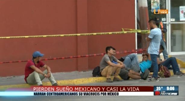 Los migrantes en Nuevo León. Ahora llegan procedentes de la frontera norte
