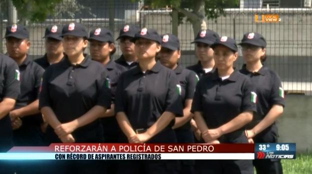 Proyectan aumentar el número de policías en el municipio de San Pedro Garza García