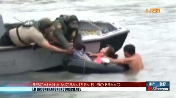 El drama de los migrantes... Dispuestos a seguir desafiando al Río Bravo