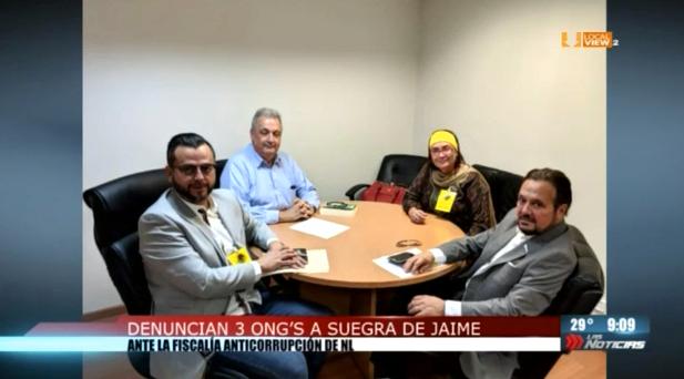 Organizaciones ciudadanas presentan denuncia ante la Fiscalía Anticorrupción de Nuevo León. Aquí los motivos