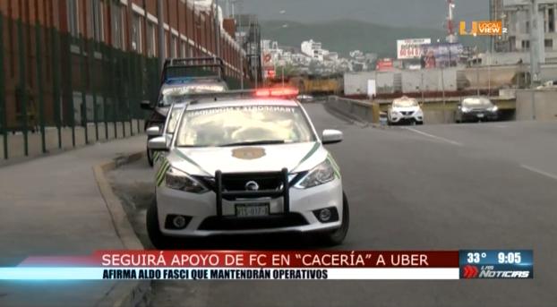Seguirá apoyo de Fuerza Civil en cacería a Uber
