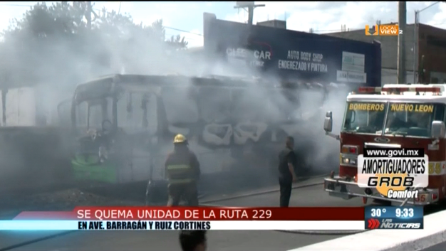 Y el transporte público en Nuevo León... peligro sobre ruedas