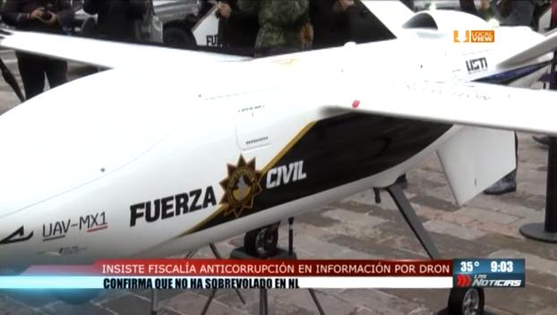 La compra de un dron en Nuevo León se ha convertido en un grave caso de opacidad... y lo que resulte