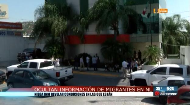 No hay información acerca de los migrantes retenidos en Nuevo León