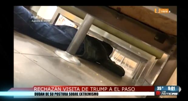 Habitantes de El Paso rechazan la visita de Donald Trump