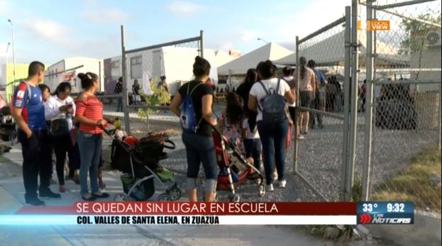 La falta de planeación dejará sin escuela a muchos niños de Nuevo León