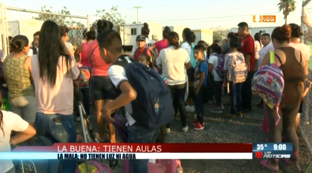 Cientos de niños no pudieron iniciar el ciclo escolar en Nuevo León