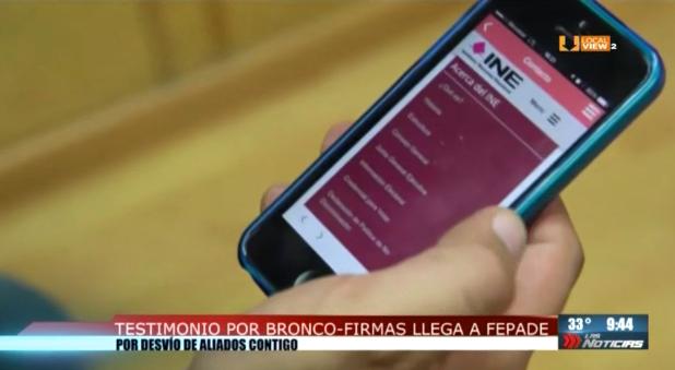 Ex empleada del Gobierno de Nuevo León testifica ante la FEPADE
