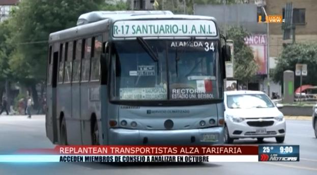 Estiran la liga. Hasta octubre revisarán las tarifas del transporte público en Nuevo León