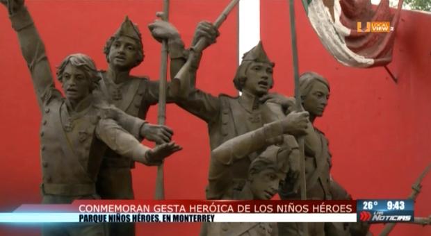 Así recordamos a los Niños Héroes en Nuevo León